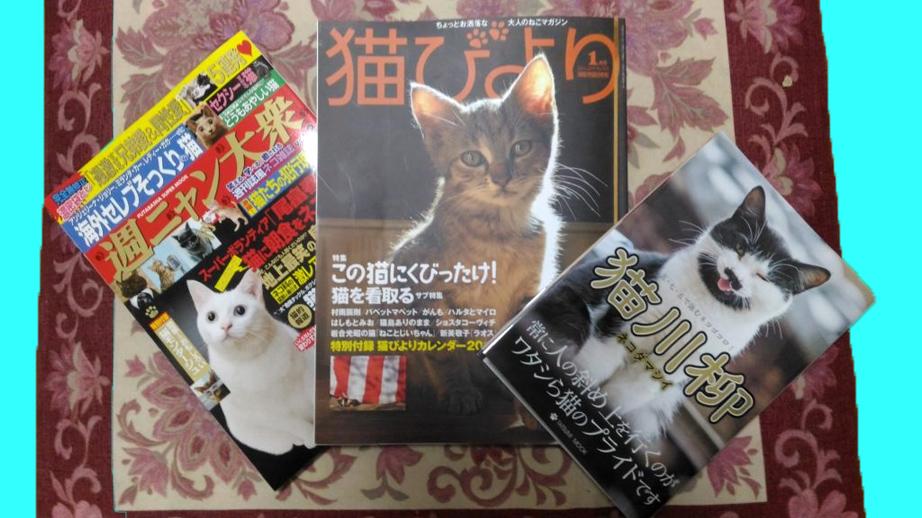 週ニャン大衆、猫びより、猫川柳