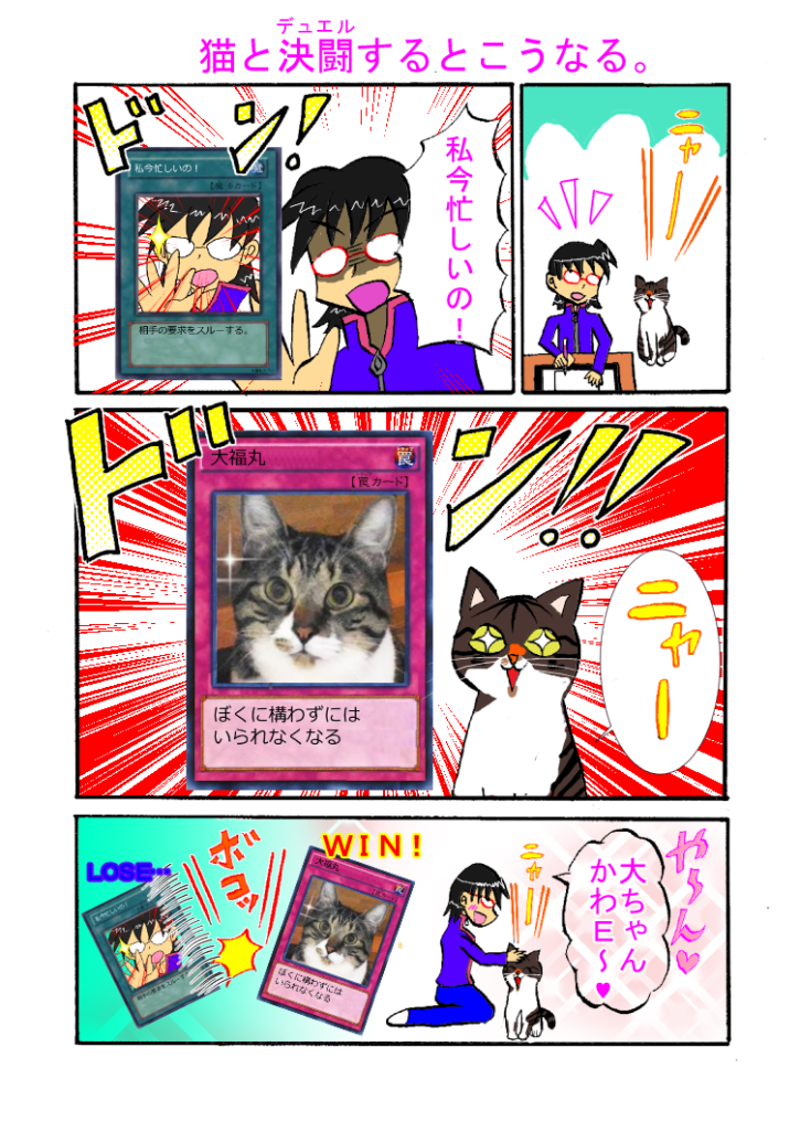 第28話「猫と決闘するとこうなる」