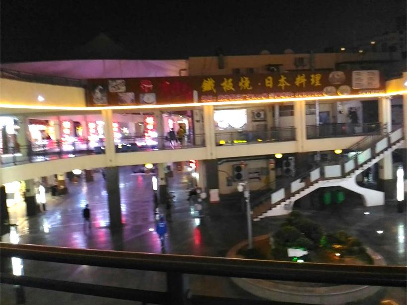 中国のネオン街3